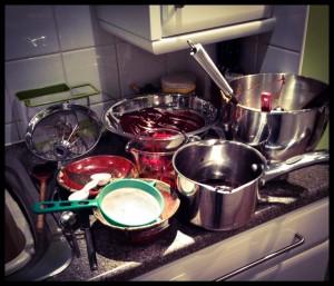 Kitchen Debris