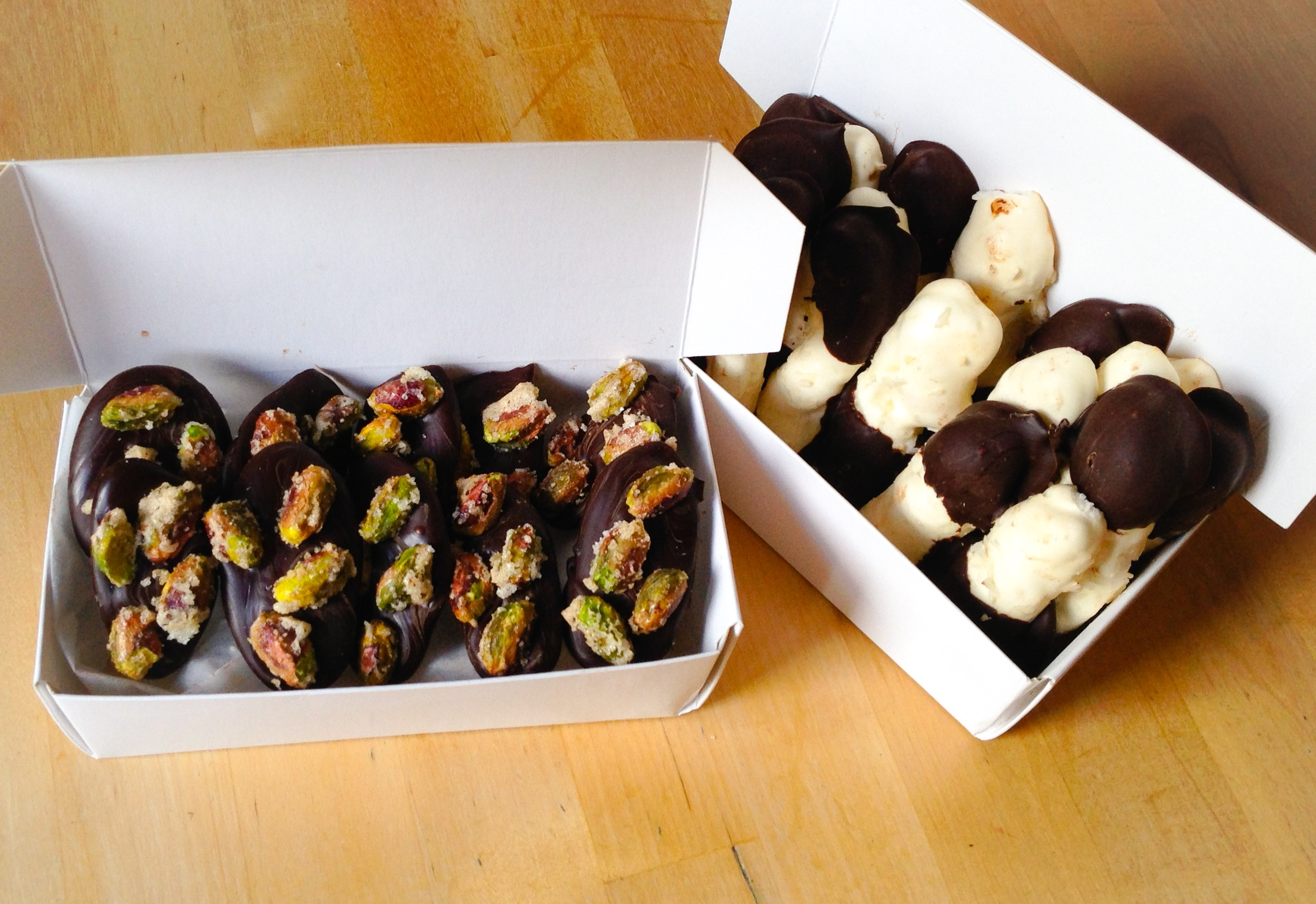 Patisserie Makes Perfect: Pistachio Bonbons and Meringues