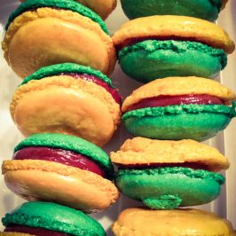 Brazilian World Cup 2014 Macarons