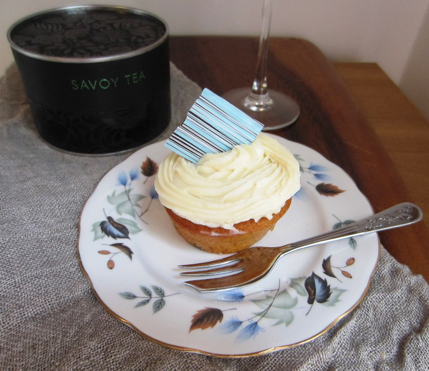 Cake with Savoy Tea