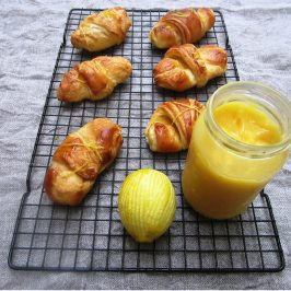 Lemon Drizzle Croissants