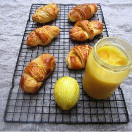 Lemon Drizzle Croissants