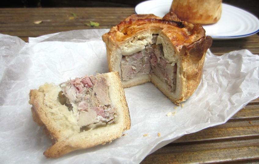 Recipe for gala pork pie