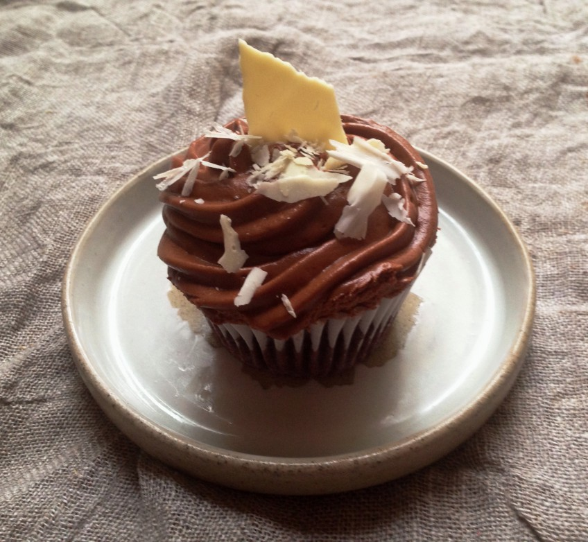 Chocolate and Beetroot Cupcake