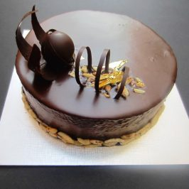 Jaffa Cake Entremet