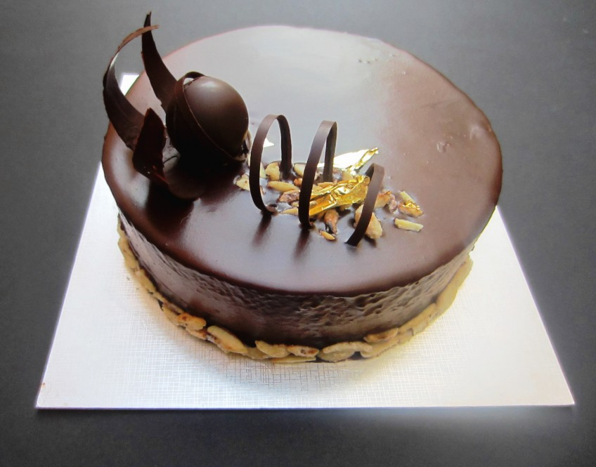 Jaffa Cake Entremet Patisserie Makes Perfect