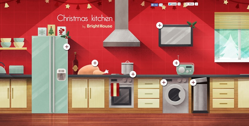 BrightHouse Christmas Kitchen