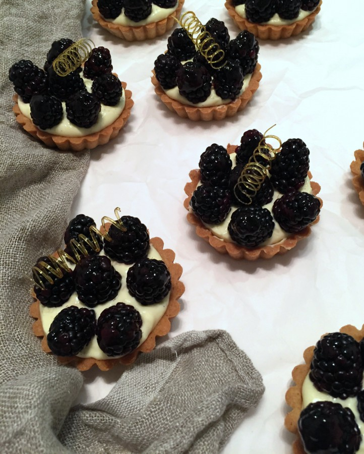 Blackberry Tartlets