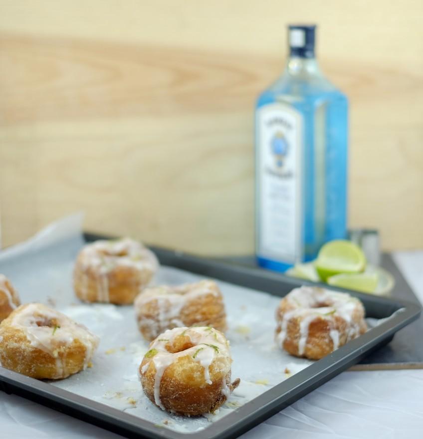 Gin & Tonic Cronuts