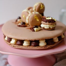 Tiramisu Macaron Cake | Patisserie Makes Perfect