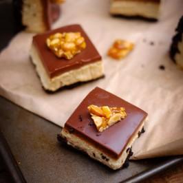 Peanut Butter Oreo Mousse Bars