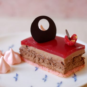 Raspberry & Rose Dessert – Godiva's Chocolate Challenge 2015