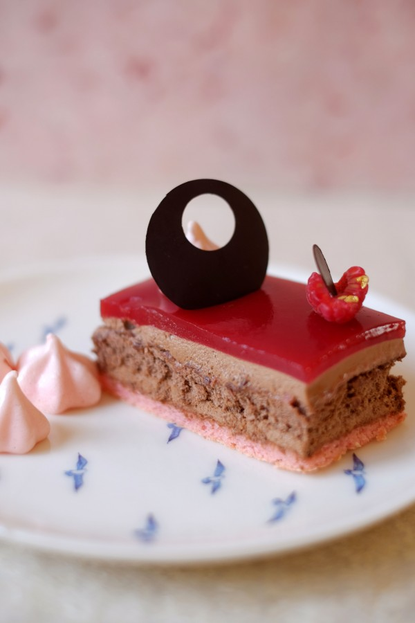 Raspberry & Rose Dessert | Patisserie Makes Perfect