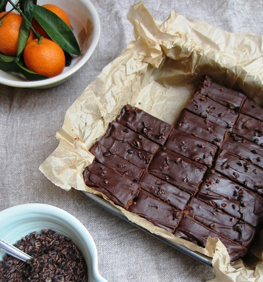 Chocolate Orange Ganache Brownies | Patisserie Makes Perfect