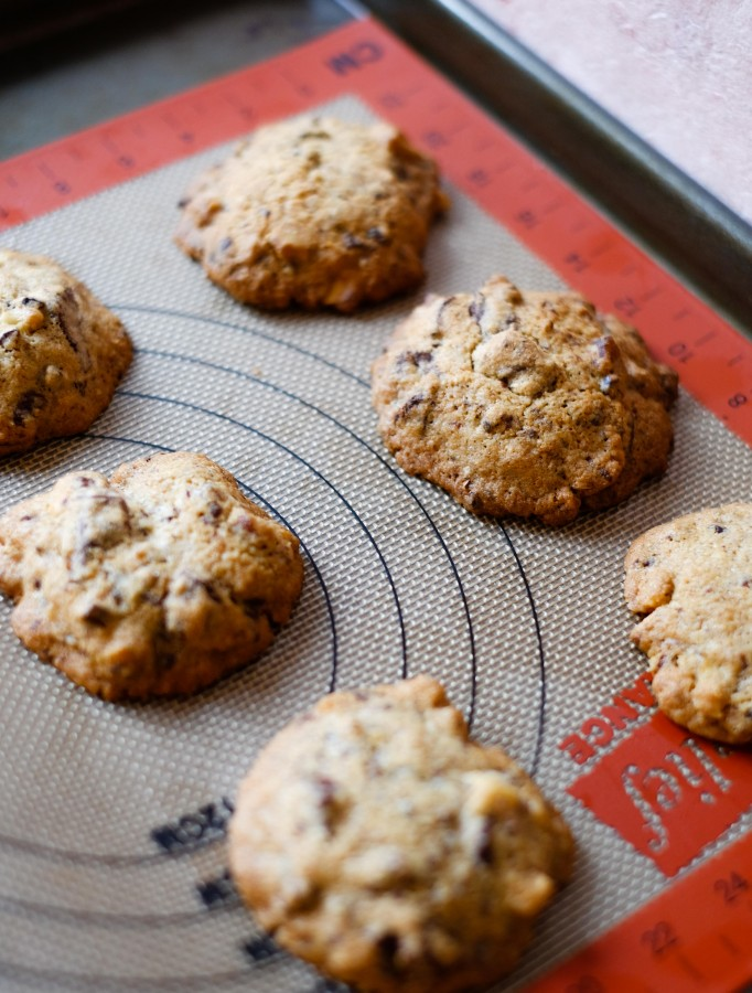 Spiced Chocolate Chunk Cookies