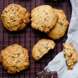 Spiced Chocolate Chunk Cookies
