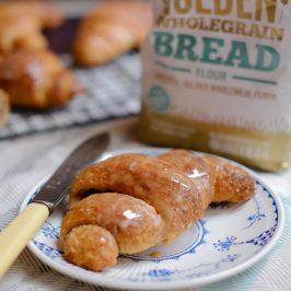 Spiced Wholegrain Croissants – A Marriage's Flour Giveaway