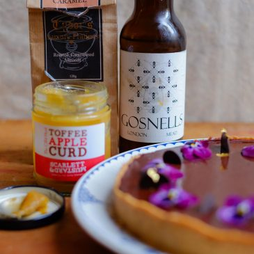 Honey Mead Chocolate Tart