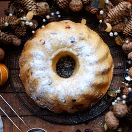 Cranberry & White Chocolate Kugelhopf