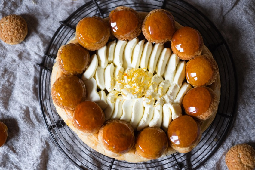 Salted Caramel Saint Honore   Patisserie Makes Perfect