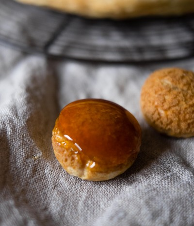 Salted Caramel St Honore   Patisserie Makes Perfect