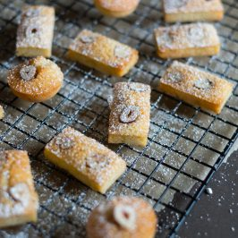 Chai Hazelnut Financiers