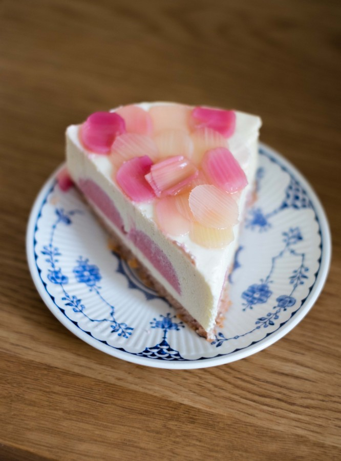 Rhubarb & Raspberry Entremet | Patisserie Makes Perfect