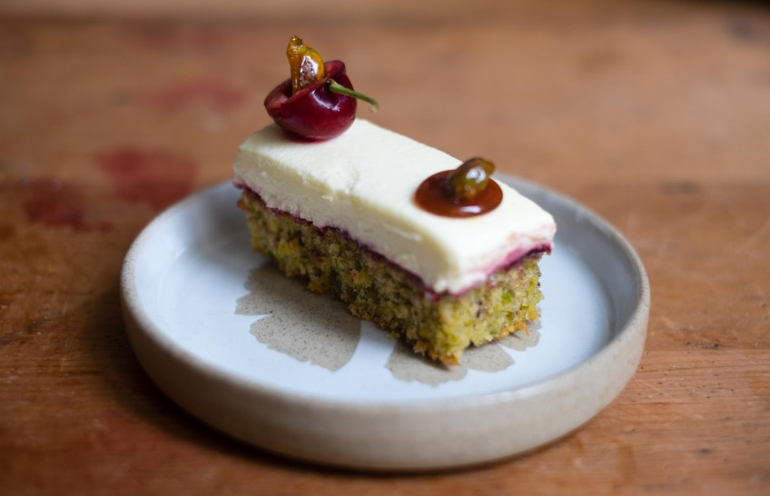 Pistachio & Cherry Cakes | Patisserie Makes Perfect