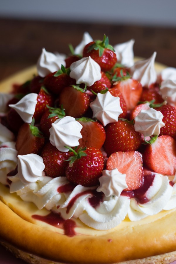 Eton Mess Cheesecake | Patisserie Makes Perfect