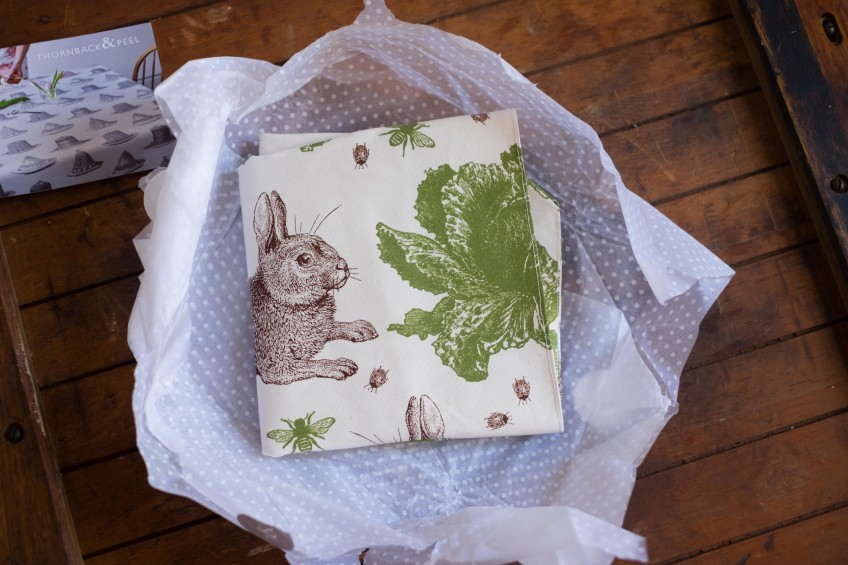 Thornback & Peel - Rabbit & Cabbage Tote | Patisserie Makes Perfect