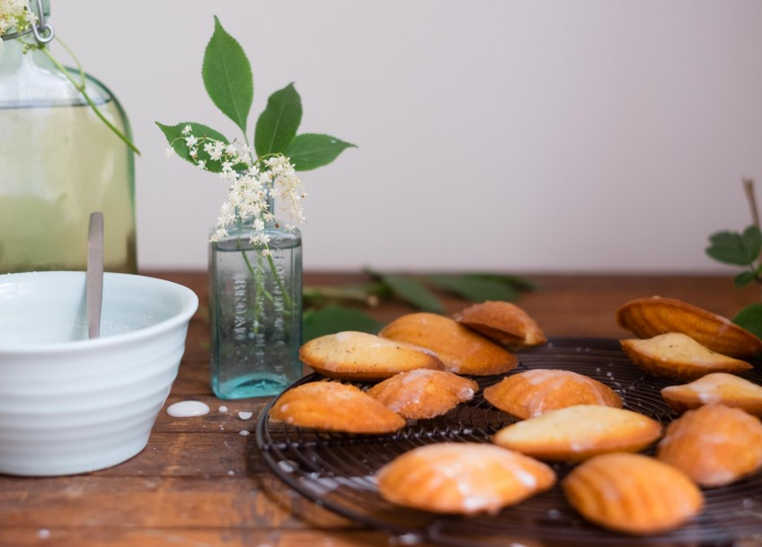 Elderflower Madeleines | Patisserie Makes Perfect