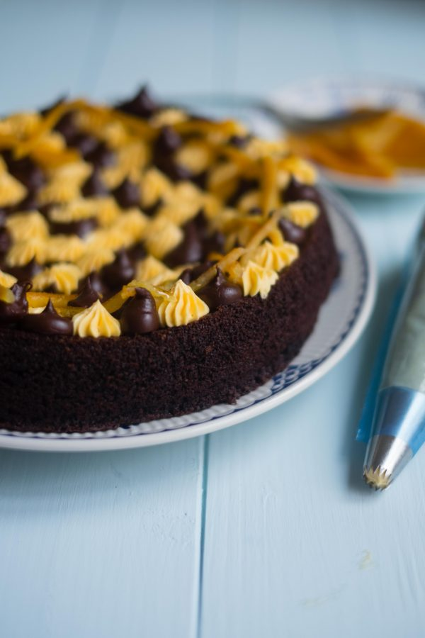 Chocolate Olive Oil Cake | Patisserie Makes Perfect
