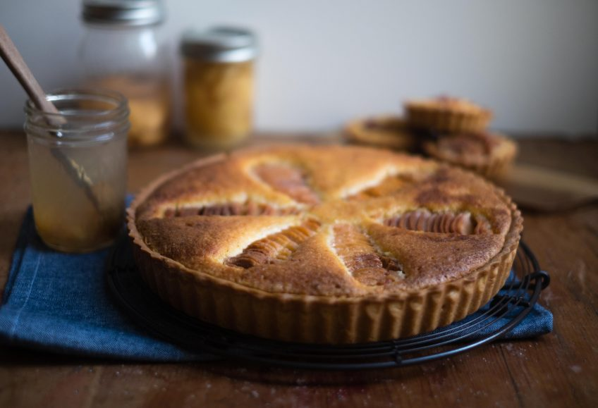 Quince Frangipane Tart | Patisserie Makes Perfect