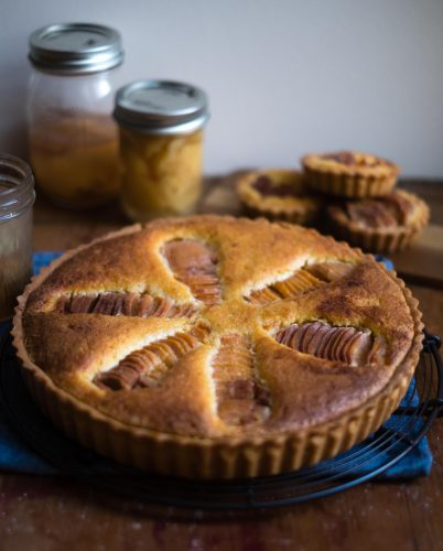 Quince Frangipane Tart with Ginger Curd | Patisserie Makes Perfect