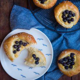 Blueberry Brioche | Patisserie Makes Perfect