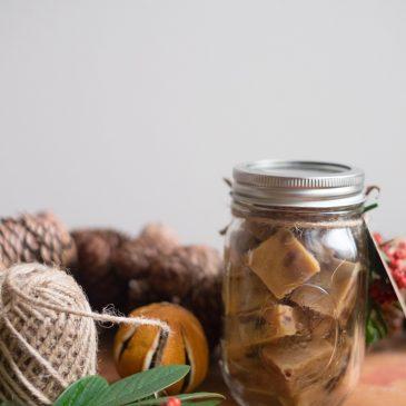 #ConfectionCollection: Mincemeat Clotted Cream Fudge