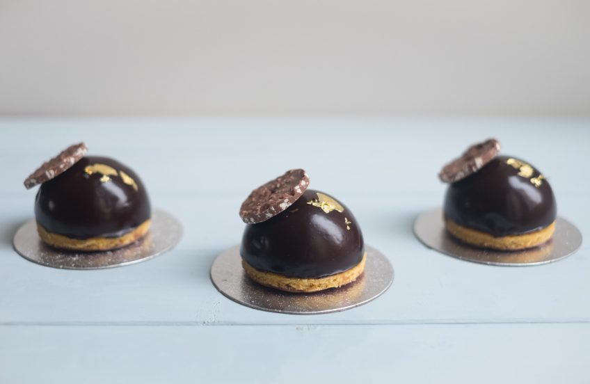 Chocolate & Chestnut Dome | Patisserie Makes Perfect