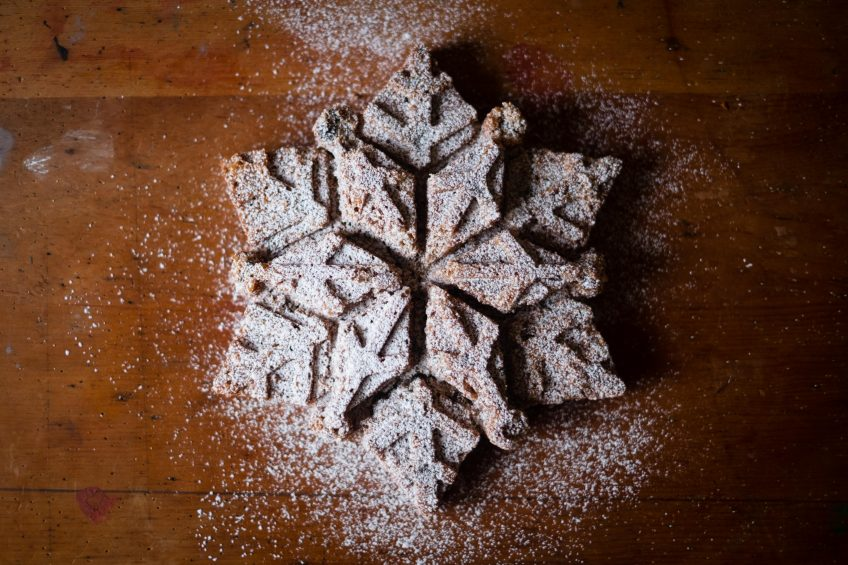 Snowflake Cake | Patisserie Makes Perfect