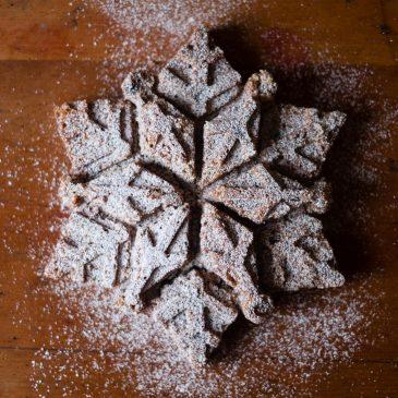 Snowflake Cake