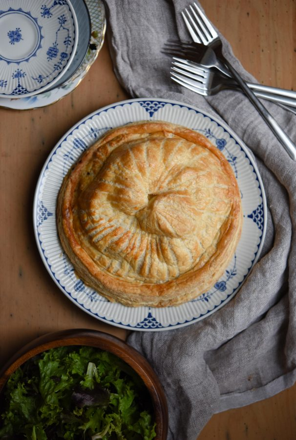 Cheese, Onion & Potato Pithivier   Patisserie Makes Perfect