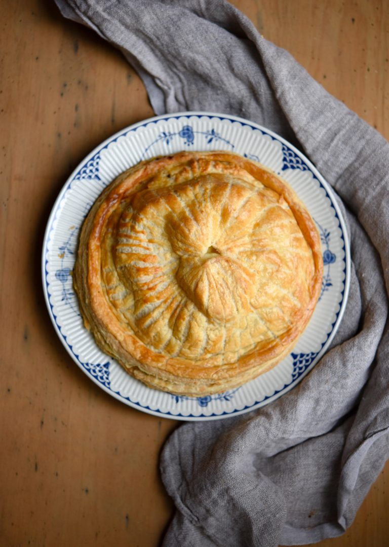 Cheese, Onion & Potato Pithivier | Patisserie Makes Perfect