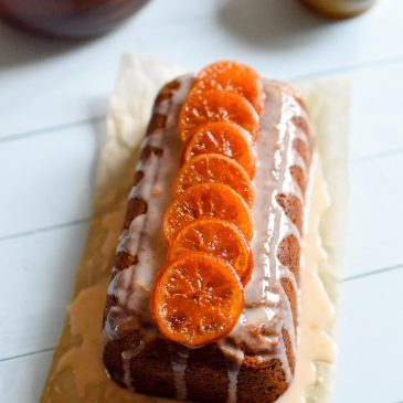 Clementine & Mincemeat Drizzle Cake