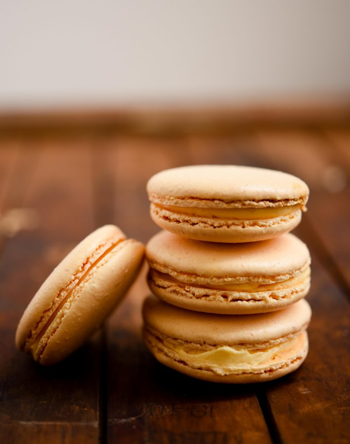 Mango & Cardamom Macarons | Patisserie Makes Perfect