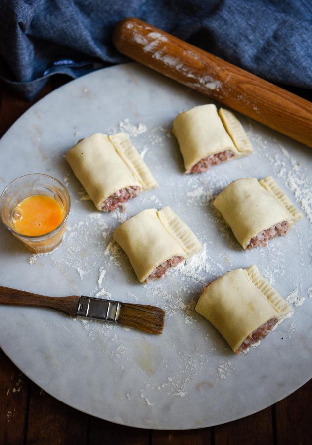 Pork & Garlic Sausage Rolls | Patisserie Makes Perfect