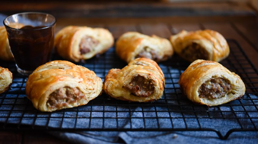 how to make perfect sausage rolls