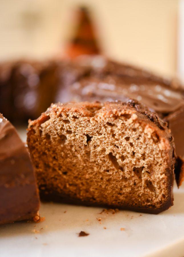 Espresso Bundt with Salted Chocolate Ganache | Patisserie Makes Perfect