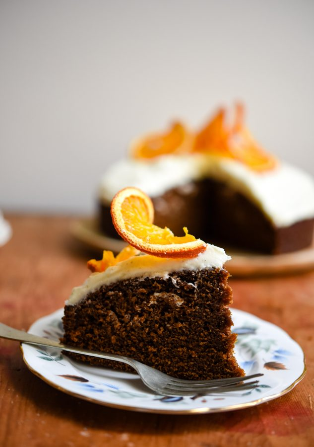 Gingerbread Cake with Cream Cheese Frosting | Patisserie Makes Perfect