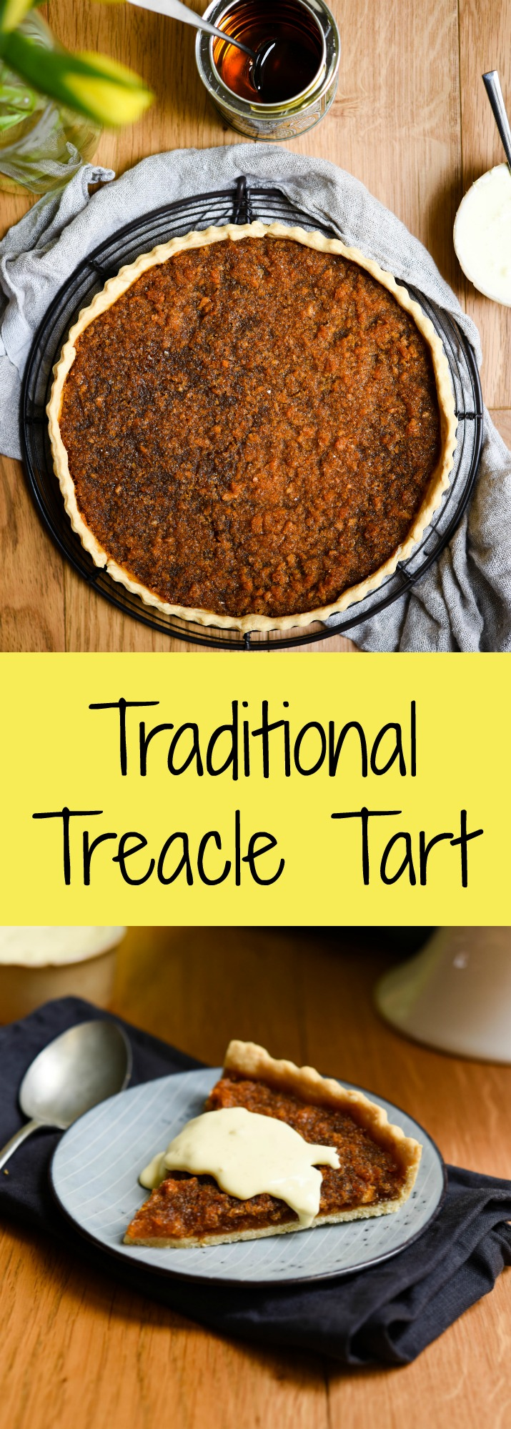 Treacle Tart Patisserie Makes Perfect