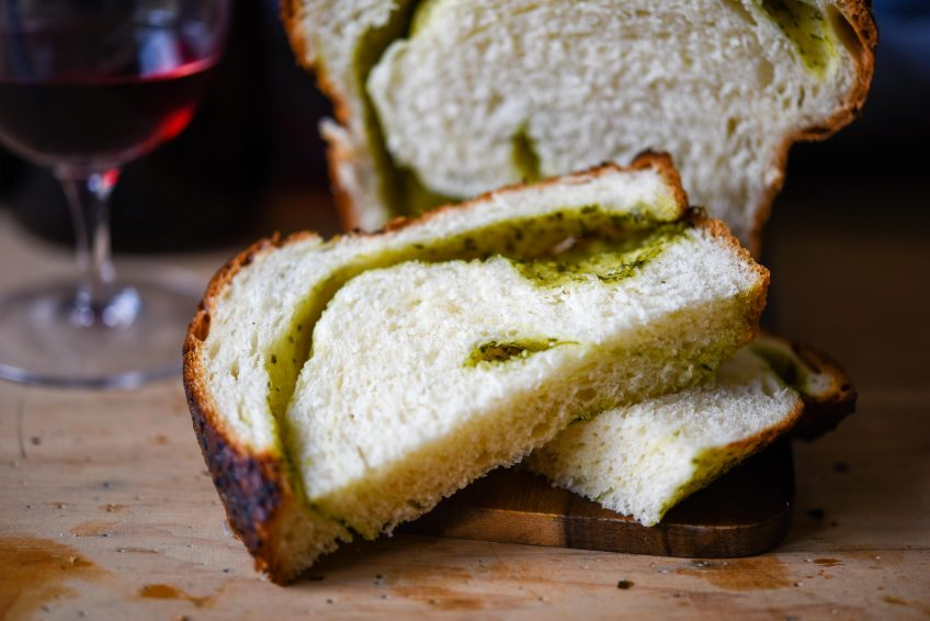 Wild Garlic Pesto Milk Bread   Patisserie Makes Perfect