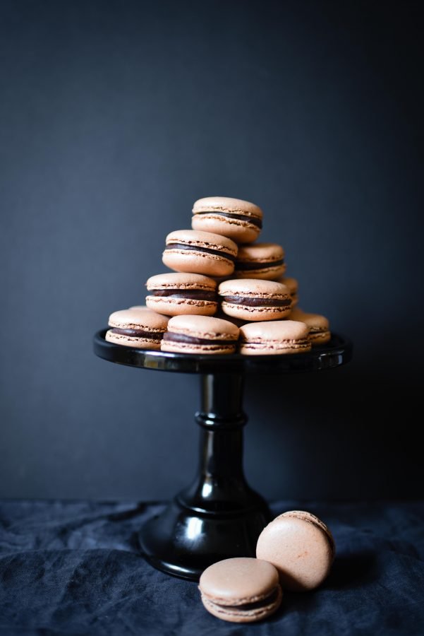 Chocolate & Salted Caramel Macarons | Patisserie Makes Perfect